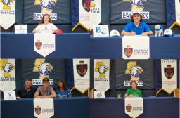 Congratulations to four more 2020 SLCA grads who recently signed to continue their academic/athletic careers at the collegiate level.