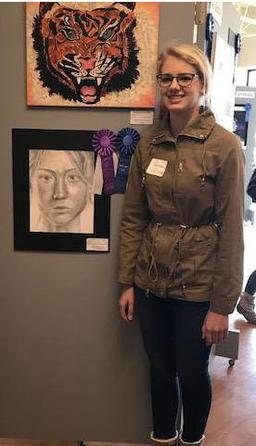 "ACSI Art Festival Results-SLCA Student Receives ""Best of Show"""