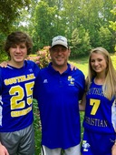 Family ties with SLCA Lacrosse
