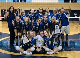SLCA Varsity Volleyball Team Wins Top Honors in MAC Conference