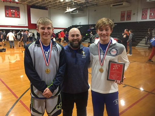 Wrestlers Make Mark at Hampton Tuttle Tournament