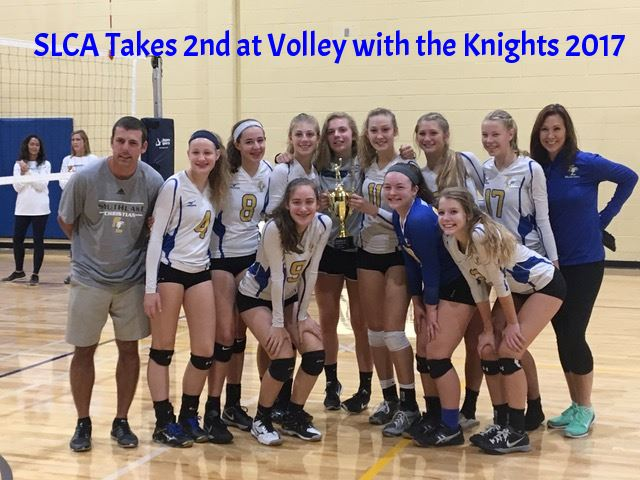 Lady Eagles take 2nd at Volley With The Knights 2017