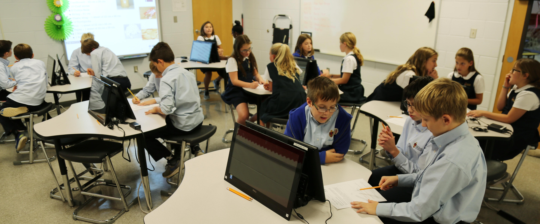 Elementary STEAM Lab - SouthLake Christian Academy